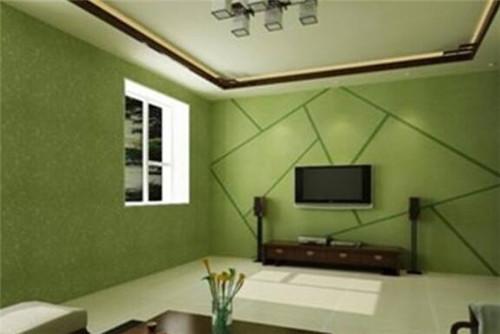 那么可以选择选用涂料或者手绘图案来装饰电视墙.