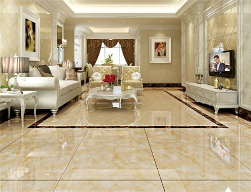客厅地板砖颜色哪种好