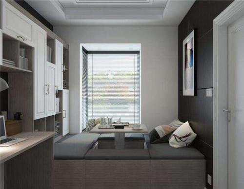小户型装修效果图 清新靓丽的75平现代两居室