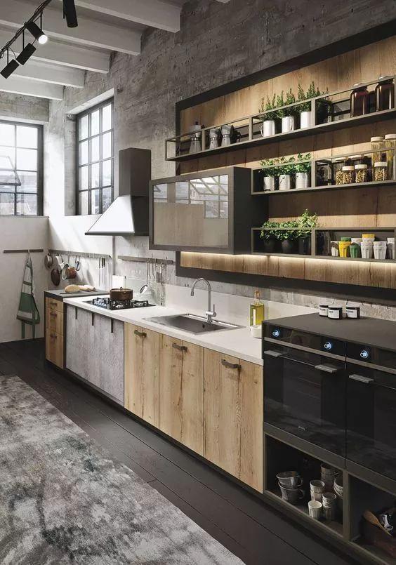 U字型布局:意味着厨房的设计是双向走动双操作台的的U字型设计。U字型厨房的操作面积大,可以容纳多人同时使用。  U字型厨房布局动线设计参考 U字型厨房的动线同样要以灶台为中心,根据使用频率的高低来布置厨电的位置。例如,从食物从冰箱拿出来到烹煮,中间要经历几个环节,所以可以放在另一个操作线上。  亲,以上内容是否没有解决您的疑问,齐家装修专家团为您提供一对一的咨询服务(装修预算报价审核,户型改造建议,疑难杂症方案,材料购买详解,装修猫腻提醒),请添加微信号:qijia520321 您也可以在微信中搜索齐家网