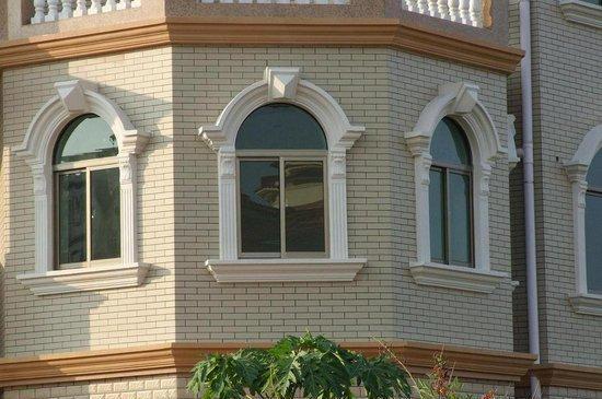 外墙石材窗套效果图,有你想要的一款