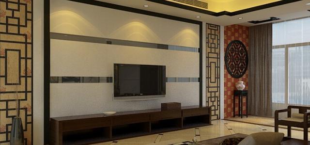 木饰面 隐形门,秒变貌美如花的客厅背景墙图片