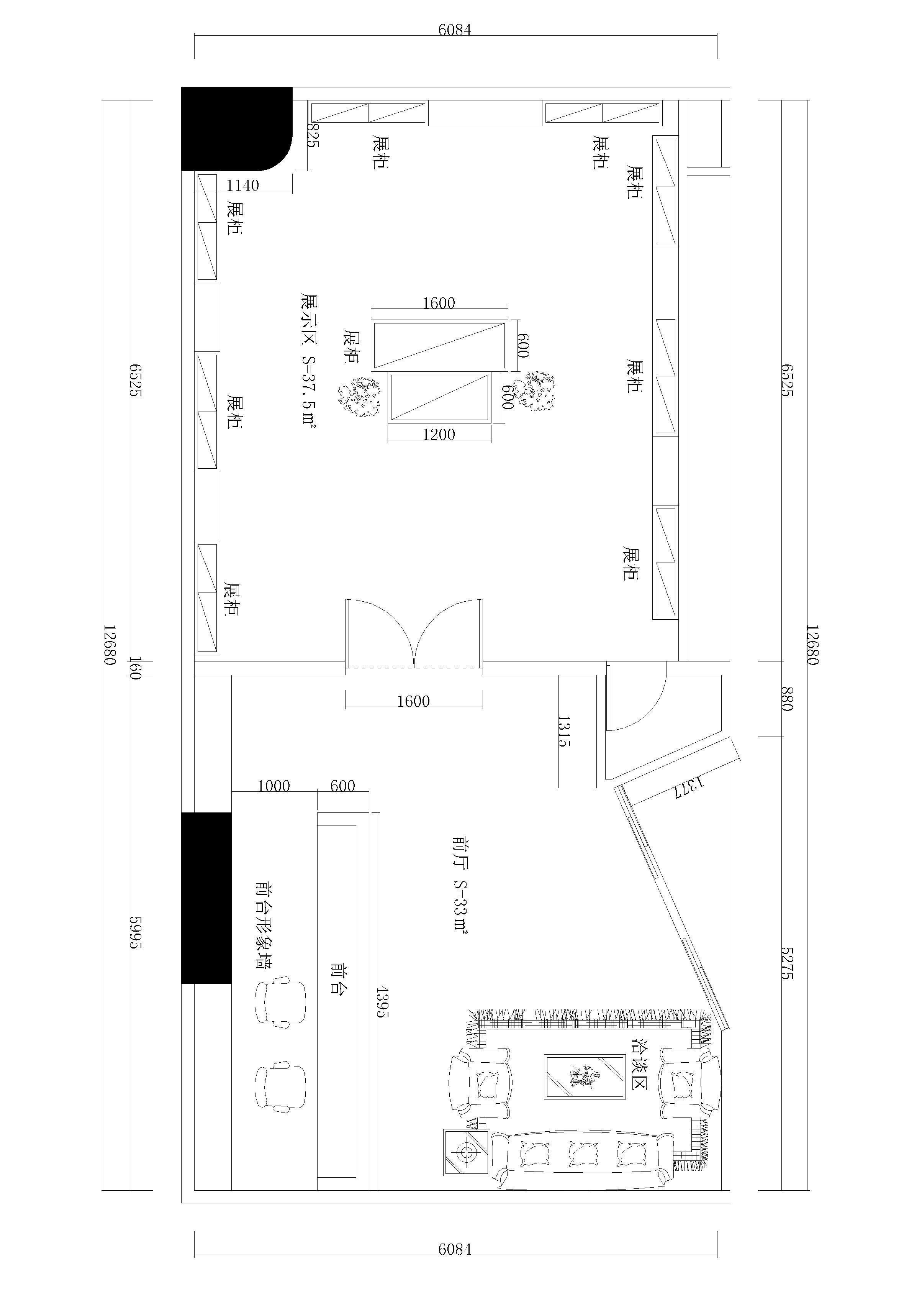 120平米房屋设计图平面图展示