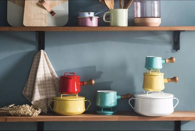马卡龙色的厨具,可以成为家装最有味道的调味剂