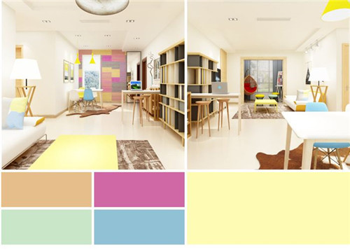 涂料颜色如何搭配 墙面涂料颜色