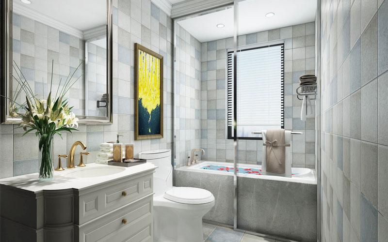 由于户型的限制,很多卫生间里没有窗户通风、采光。那这种卫生间应该怎样装修呢?今天就来为大家支几招,让你家卫生间远离闷、暗、臭、湿!1卫生间光线选墙地砖的时候,尽量选择亮色系,增加室内的明亮度。另外,尽量保证卫生间均匀明亮的光线。在淋浴区、镜子前最好加入辅助光源。卫生间加大镜面范围,可以补充光源。或