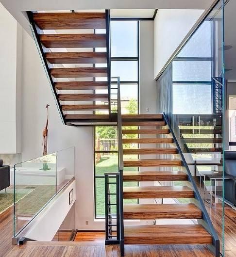 室内楼梯踏步尺寸规范 室内楼梯设计效果图