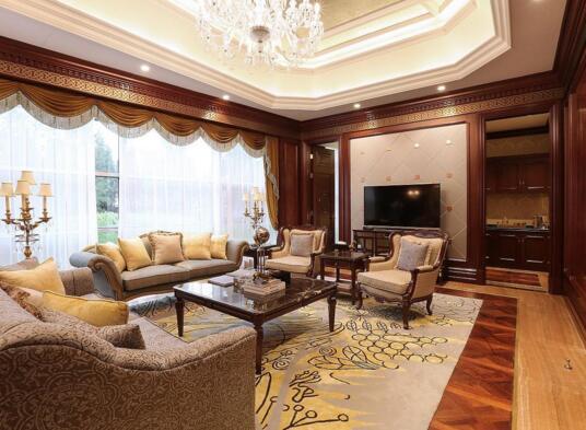美式装修风格样板房的特点 美式和欧式有什么差别