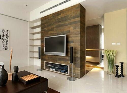 小户型客厅电视墙如何设计  4个技巧让小户型变