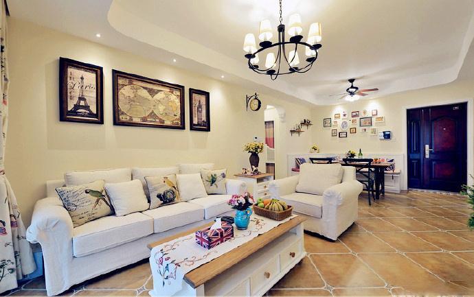 欧美范儿的装修风格,让家居的环境也能如此美好