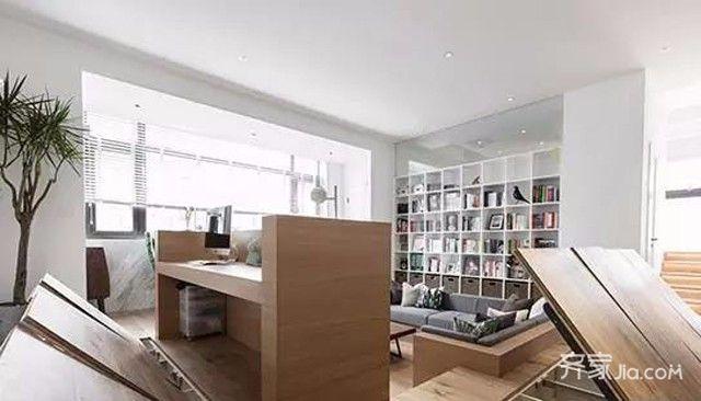装修效果图,loft下沉式客厅美翻天装修案例效果图图片