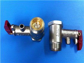 什么是热水器安全阀  为什么热水器要装安全阀