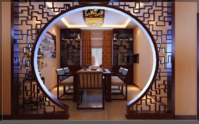 2.喜欢中式装修,喜欢那种圆形拱门,圆窗的设计