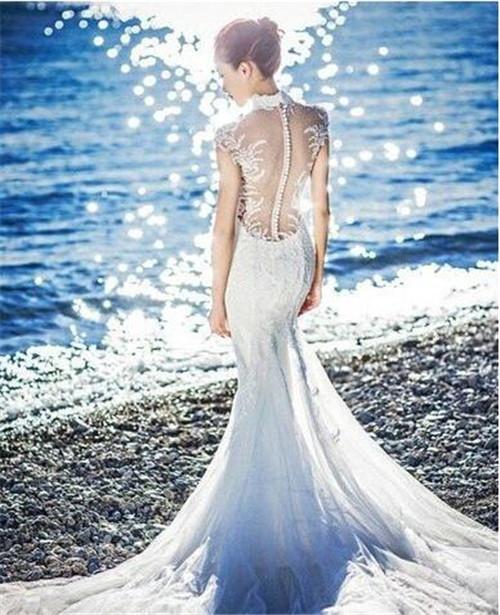 12星座的专属婚纱图片--水瓶座-2018创意12星座的专属婚纱图片 12