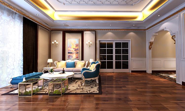 欧式|卧室3D效果图