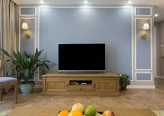 资讯 装修头条 自媒体 正文  石膏板的石材料比较轻,造型的电视墙比较