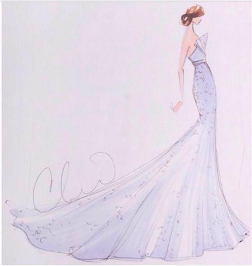 婚纱设计图基本画法要求 入门婚纱设计师画法技巧