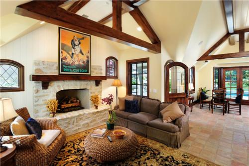 美式客厅有何亮点 如何装饰真正的美式客厅