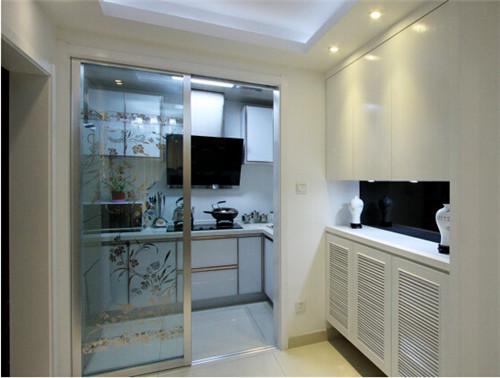 厨房玻璃门尺寸是多少 如何选购玻璃门