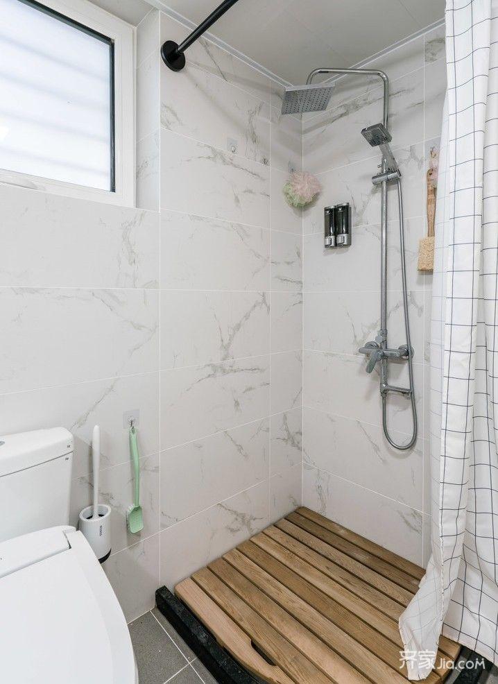 简易淋浴房浴帘