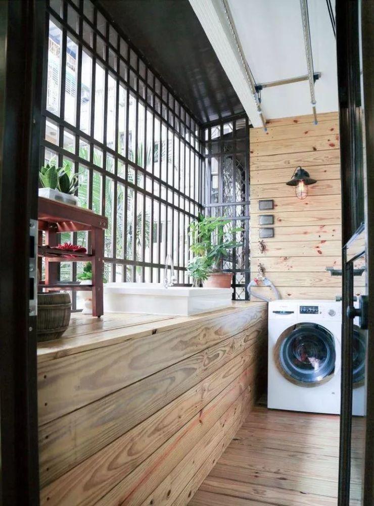 阳台装修设计效果图集锦现代建筑设计手绘效果图图片