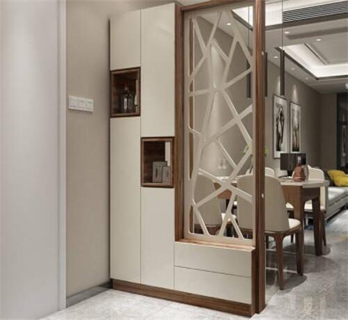 进门客厅玄关隔断如何设计 4种实用的隔断方法推