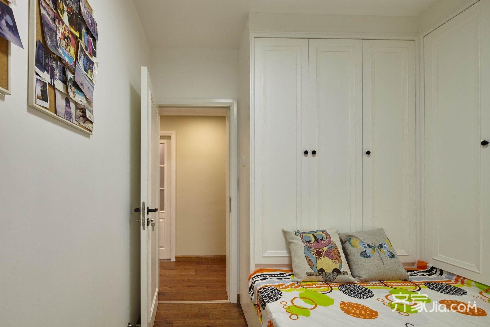 实木地板颜色效果图 卧室