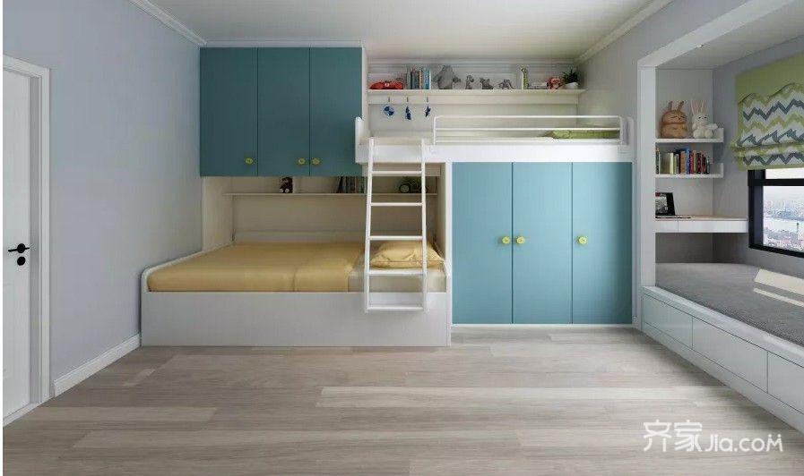 6万30平米简约一居室装修效果图,单身公寓装修案例图
