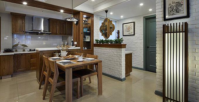 开放式厨房怎么设计