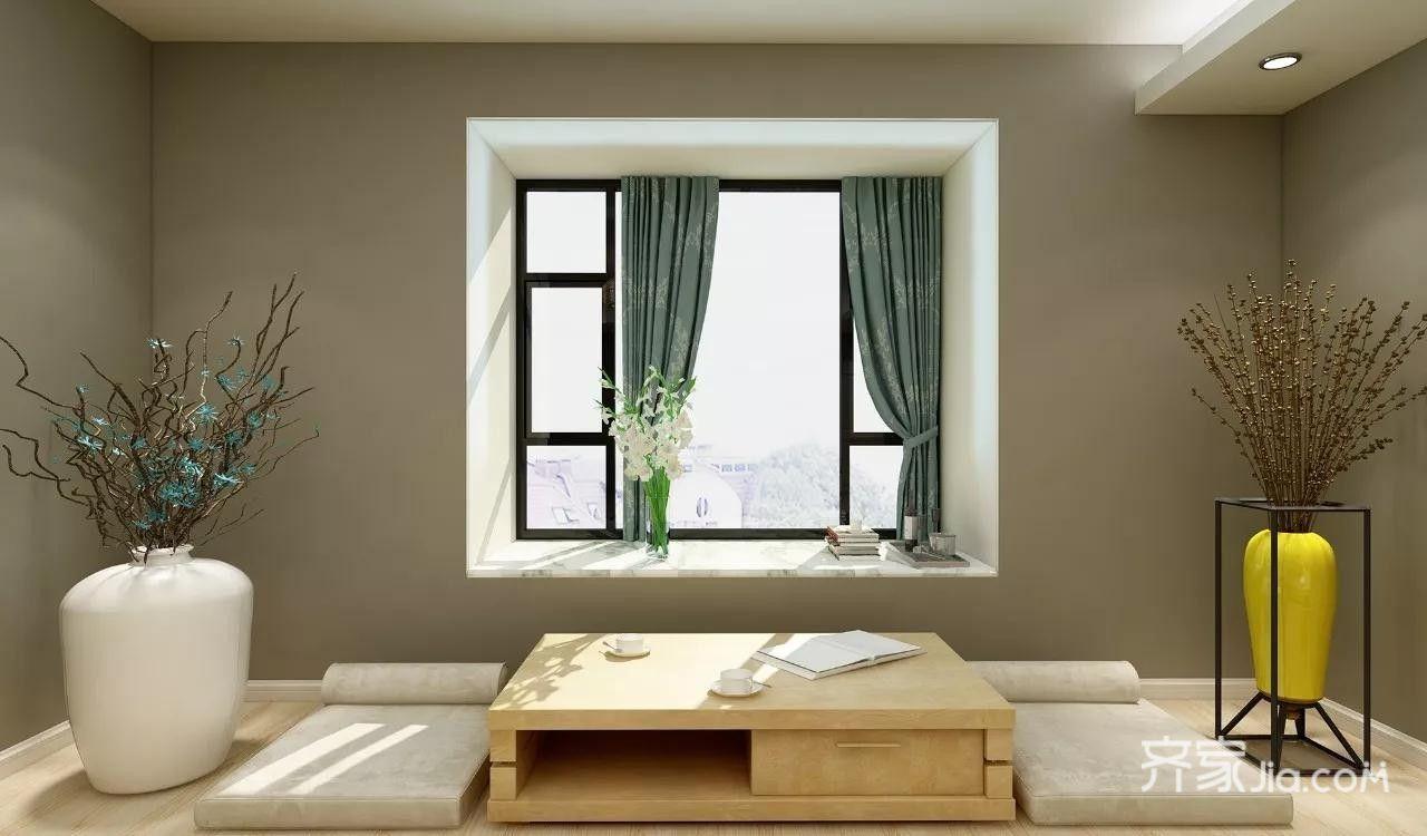 28万150平米欧式二居室装修效果图,150㎡北欧装修案例