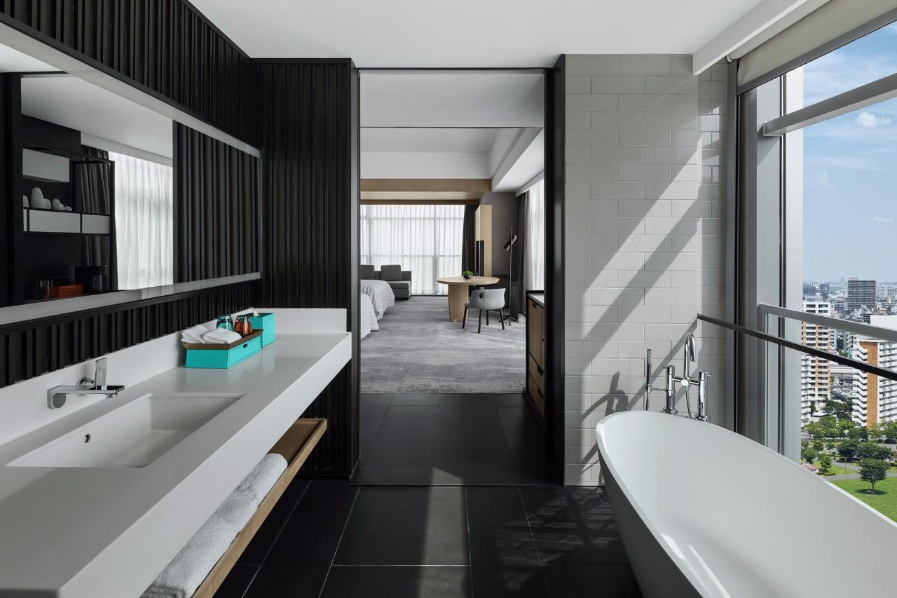 五星级酒店客房洗手间装修效果图