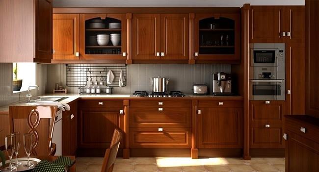 厨房装修设计一切为简单便捷【厨房装修效果图】