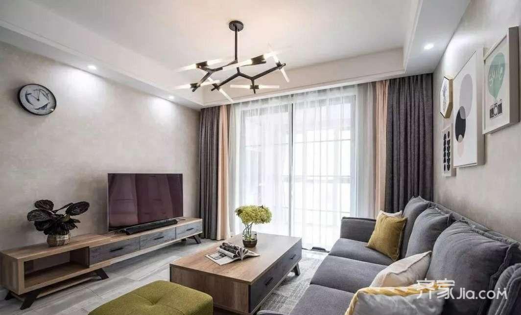 120平現代簡約三居室