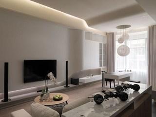 简约现代公寓装修设计效果图