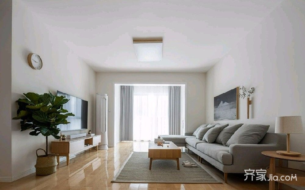 105㎡三居室中式風格