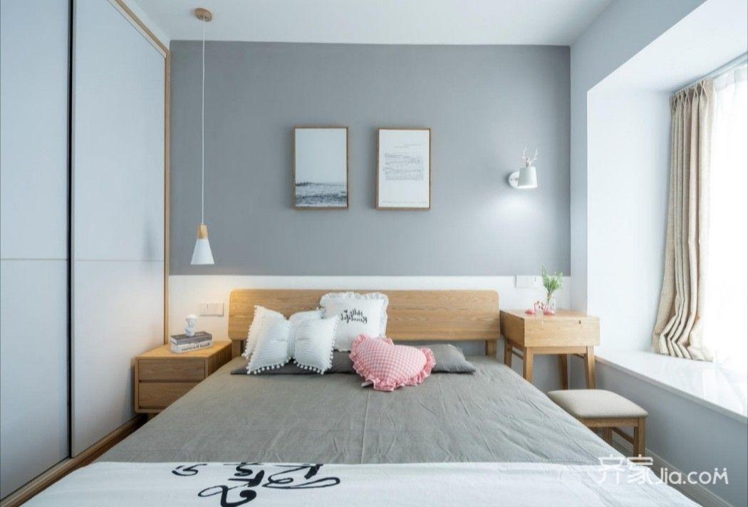 8万85平米北欧三房装修效果图,85平三房北欧风格风图