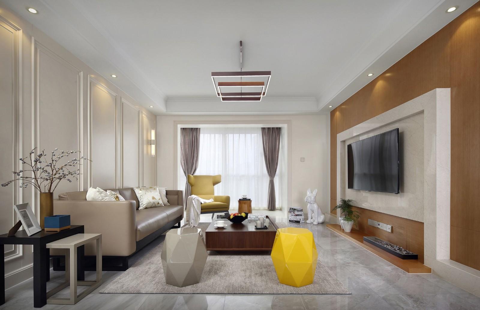 現代 三居室 89平米
