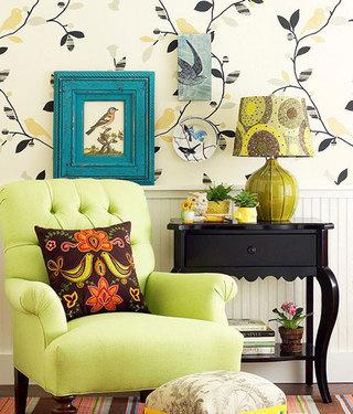 给客厅换一种颜色 10款炫彩客厅鉴赏