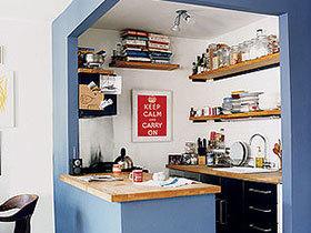 20款精致小厨房 温馨宜家风