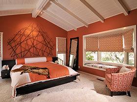 16个卧室飘窗 给你一个冥思的空间