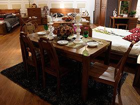 中式餐桌欣赏 感受古韵中国风