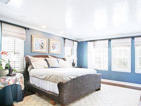 蓝调地中海卧室 14款最美卧室设计图