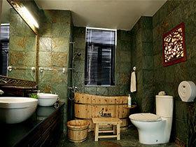 22种经典中式卫浴间  古典气质VS时尚范儿