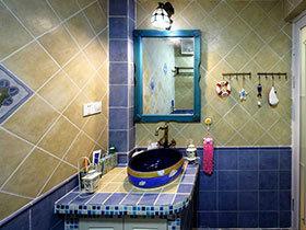 22款特色洗手台推荐 浪漫地中海风情