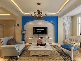 24种客厅吊顶设计 在家享受浪漫