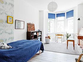 用窗帘打造的浪漫空间 20种时尚型飘窗欣赏