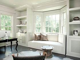 18款宜家飘窗软垫设计  让你舒适落座