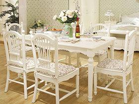 22种白色餐桌设计效果图 清新又洁净