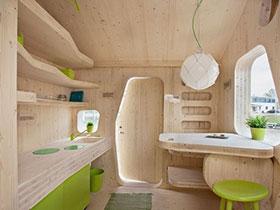 彩色餐桌图片 15种清新餐厅设计