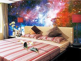 卧室壁纸效果图 15图展示个性卧室